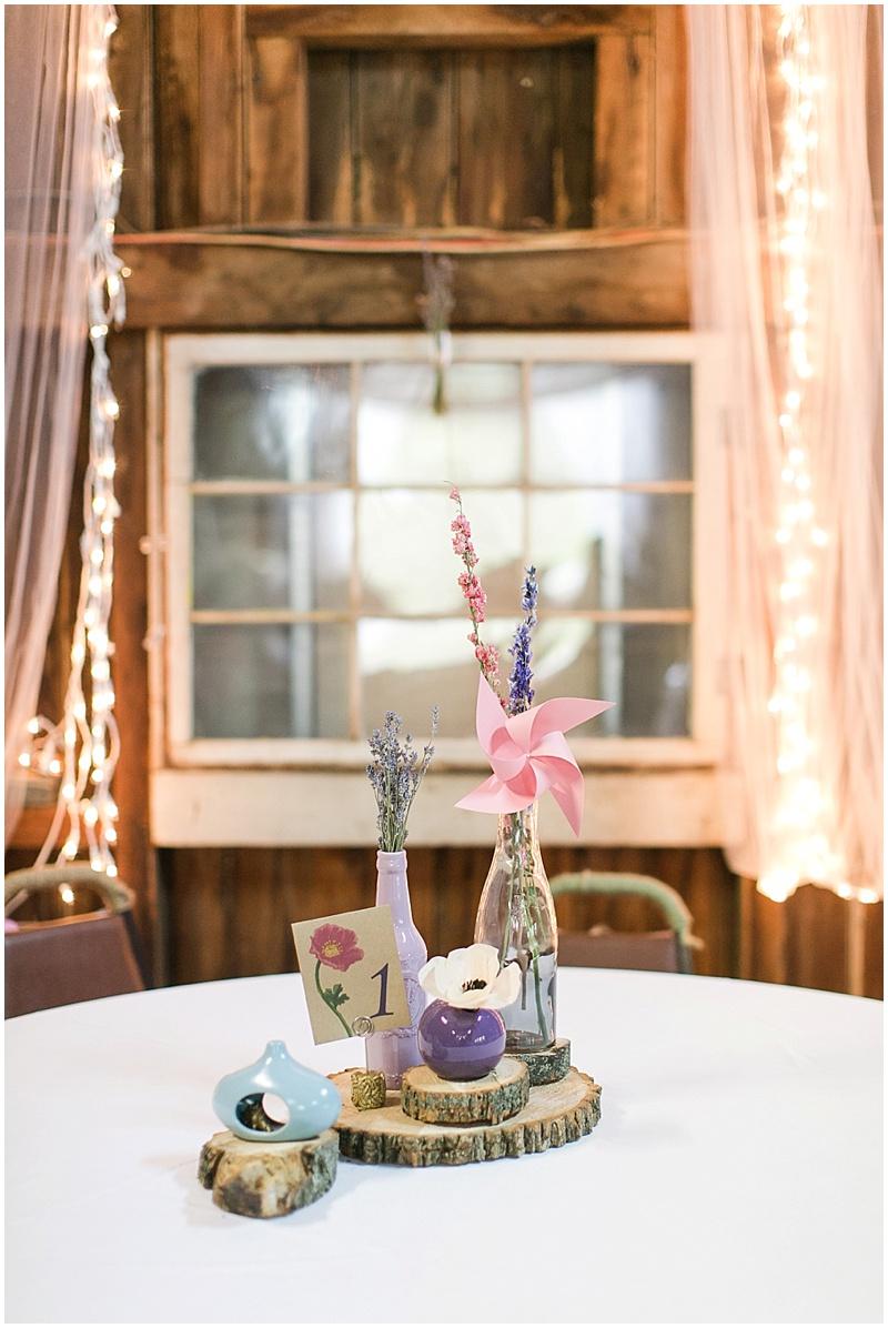 pinwheel wedding decor