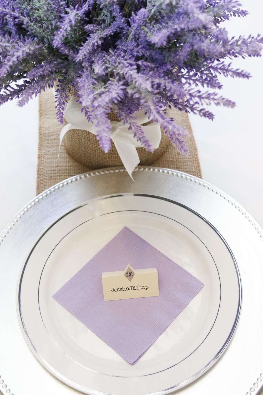 The Budget Savvy Bride - DIY Written Place Cards using Cricut Explore