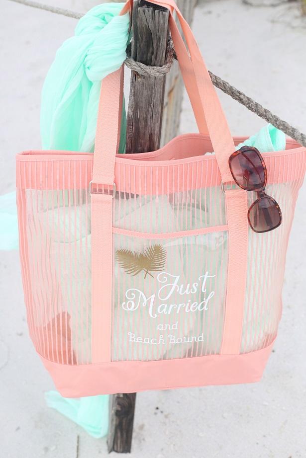 The Celebration Shoppe - DIY Personalized Honeymoon Tote with Cricut Explore
