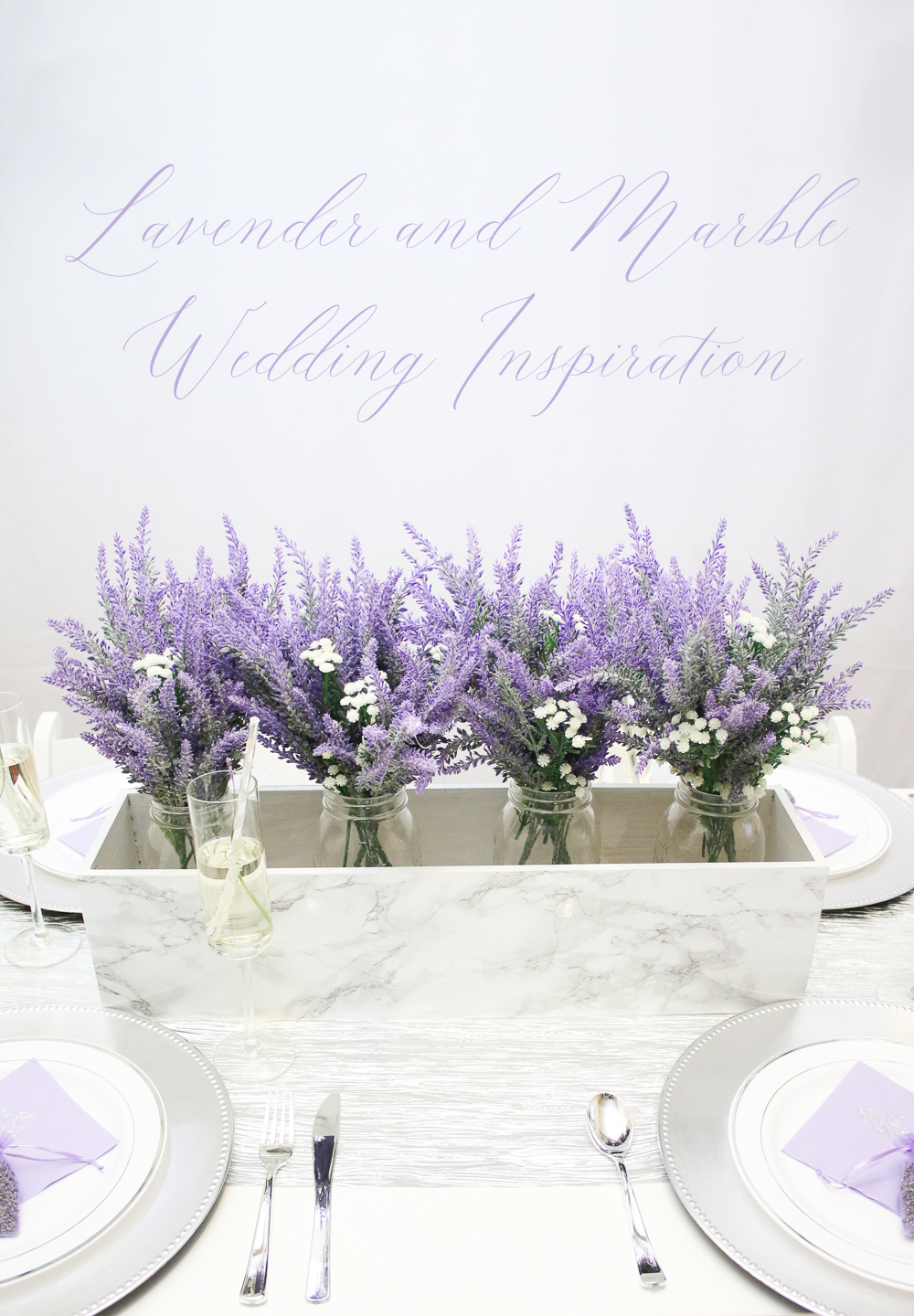 Marbe and Lavender Wedding Inspiration Inspiration