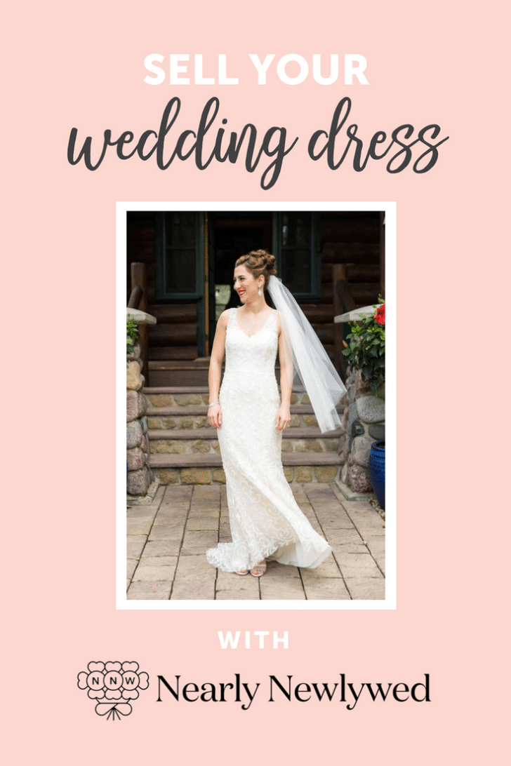 sell your wedding dress with nearly newlywed