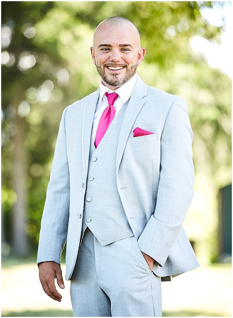 stone groom attire