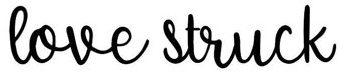 Love Struck Script Handwritten Font - $5 Wedding fonts