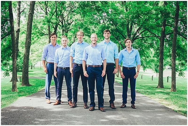 casual groomsmen attire