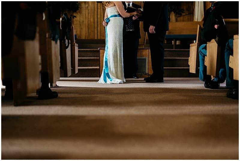intimate wedding ceremony