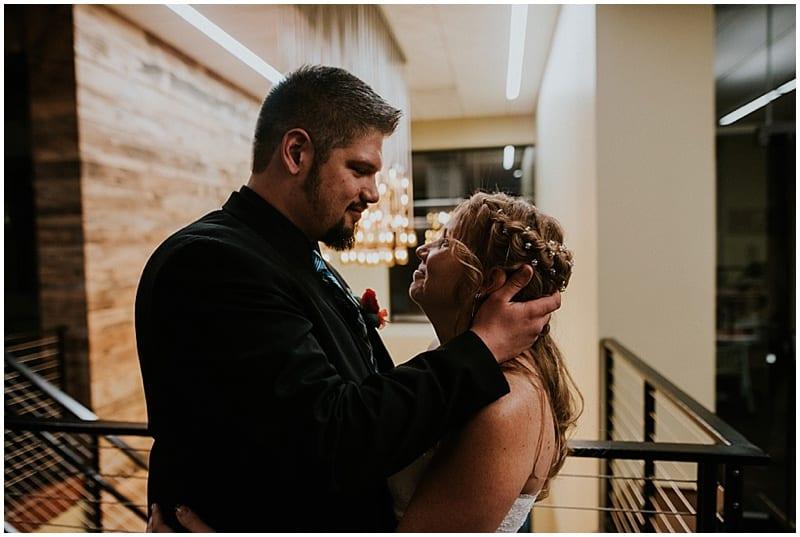 brewery wedding photos