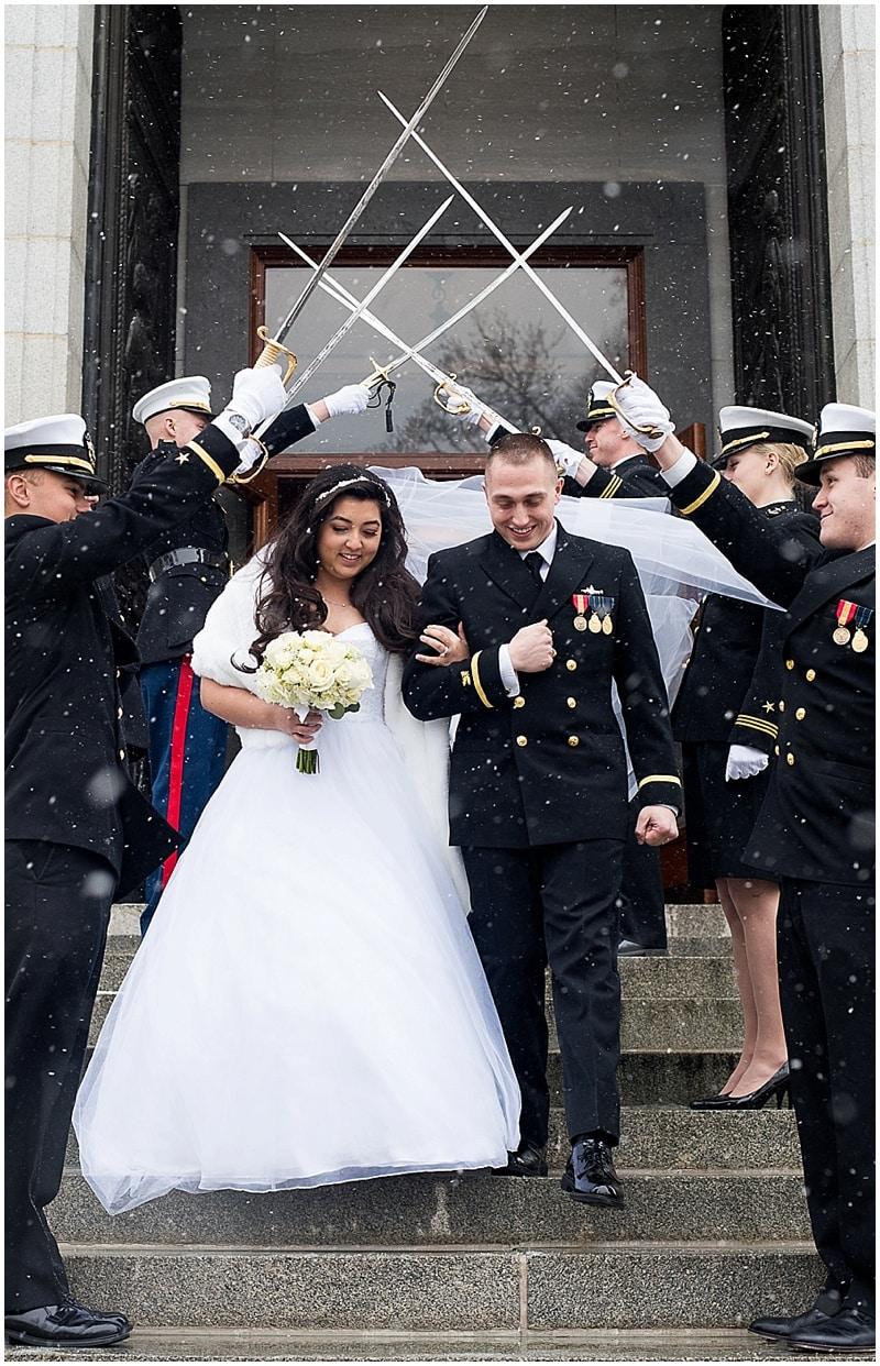 wedding get away