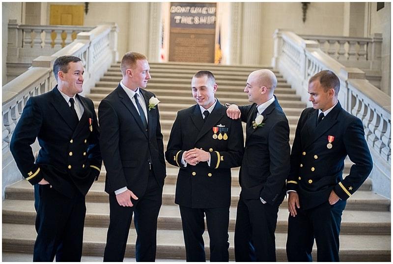 groom and groomsmen attire