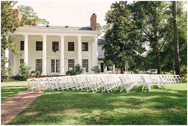 outdoor ceremony venue