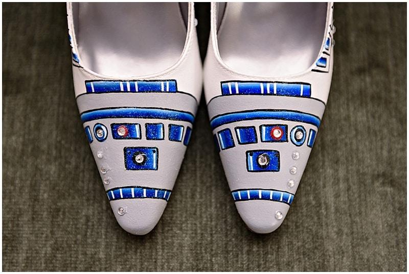 R2-D2 wedding shoes