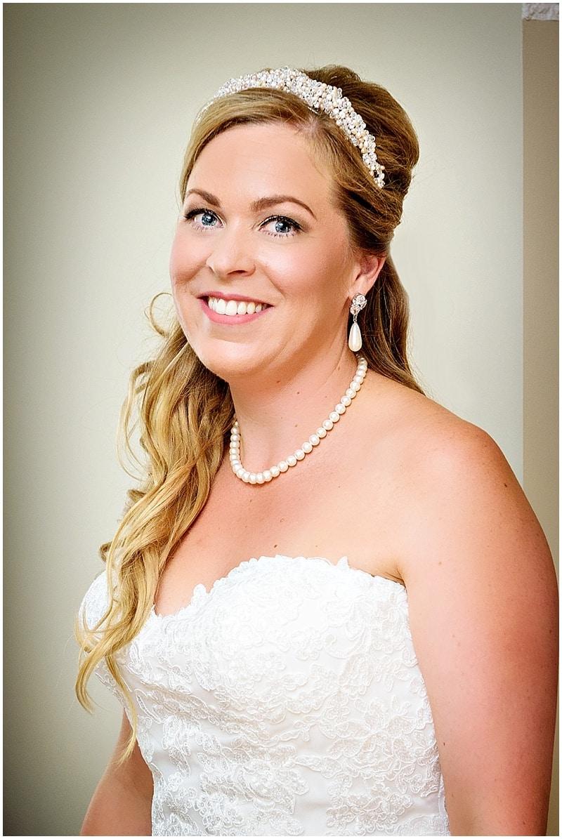 natural bridal look