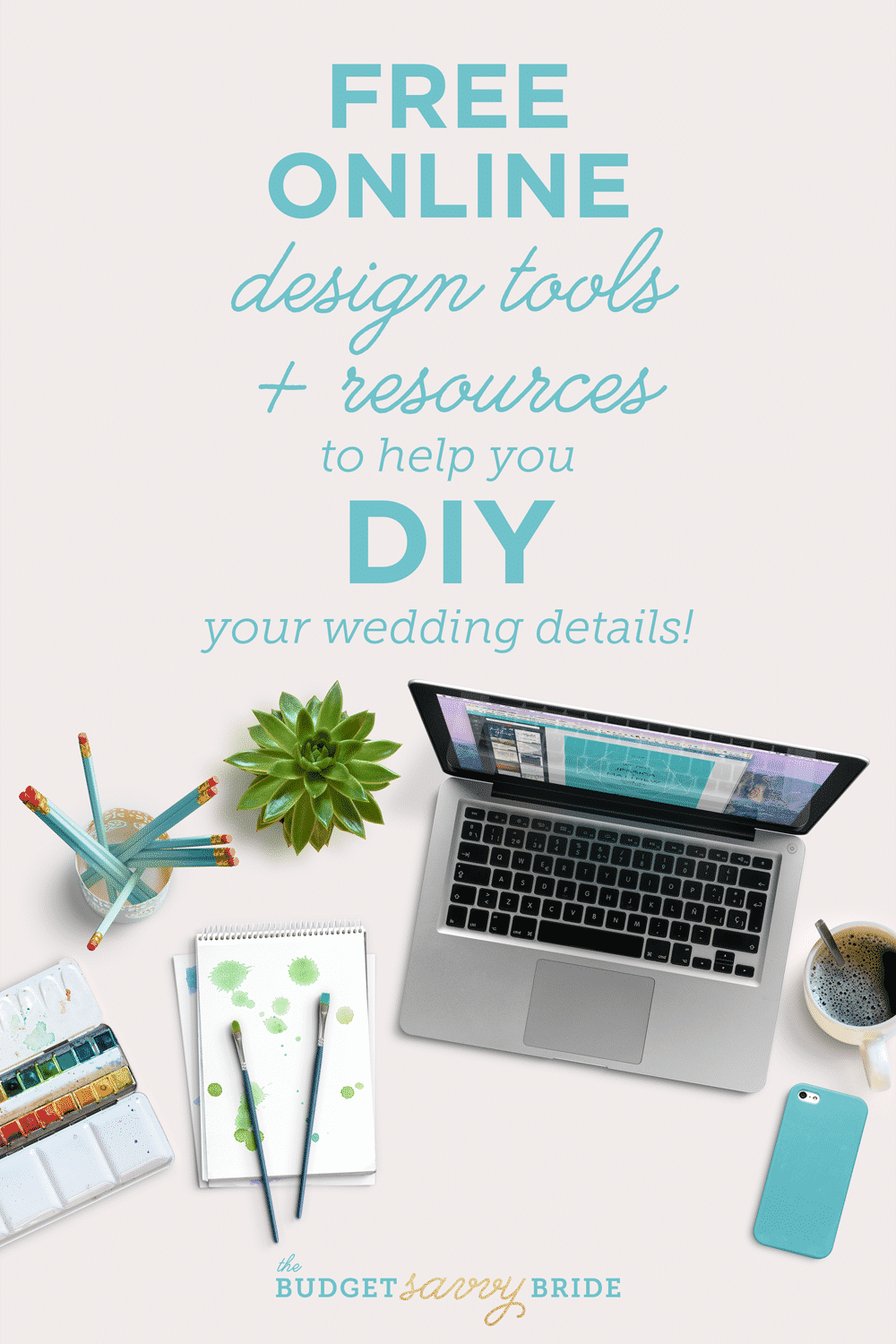 Check out these free design tools to help you diy your wedding details!