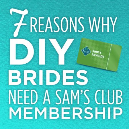 Top Reasons Why DIY Brides Need a Sam's Club Membership