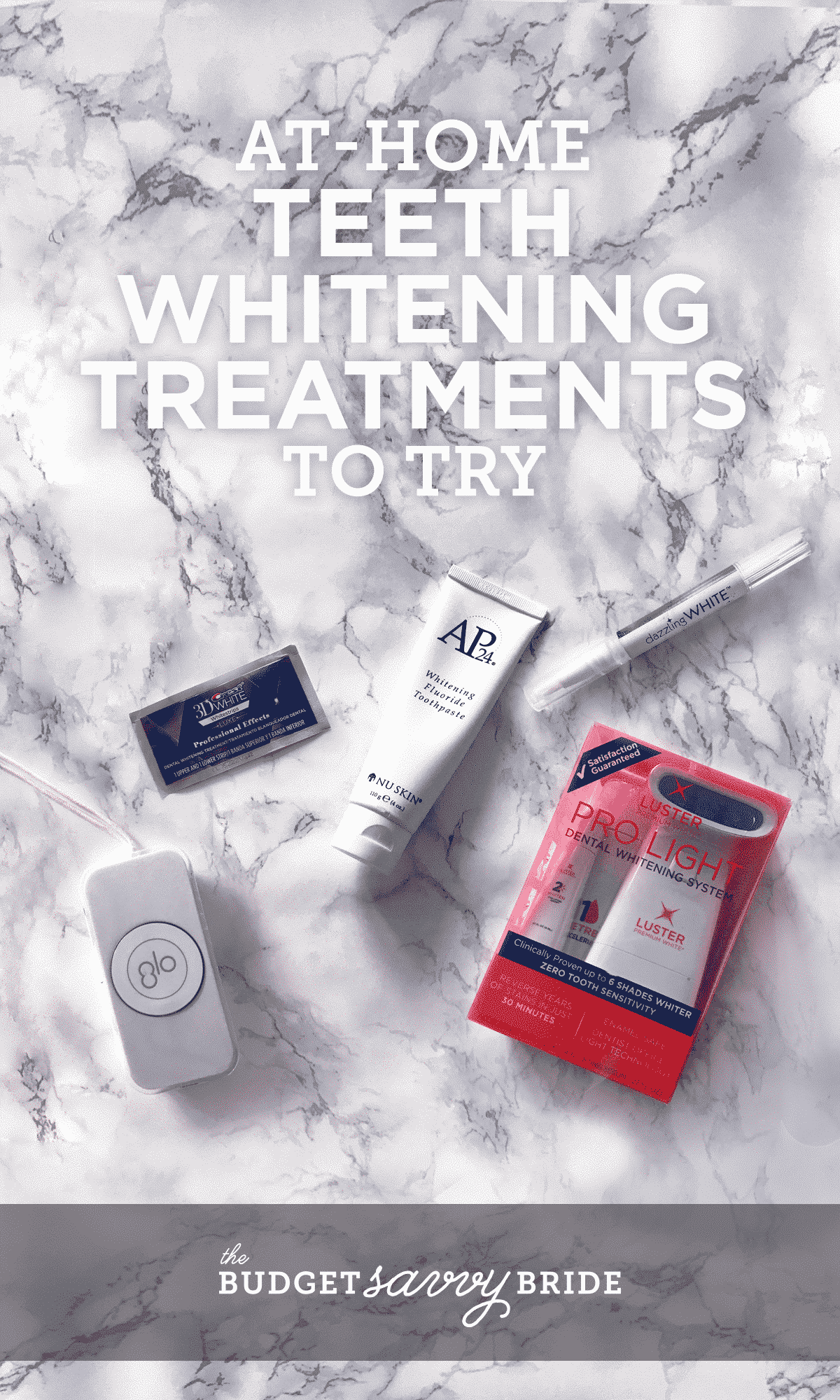 At-home teeth whitening treatments to try -- get your smile bright for your big day!