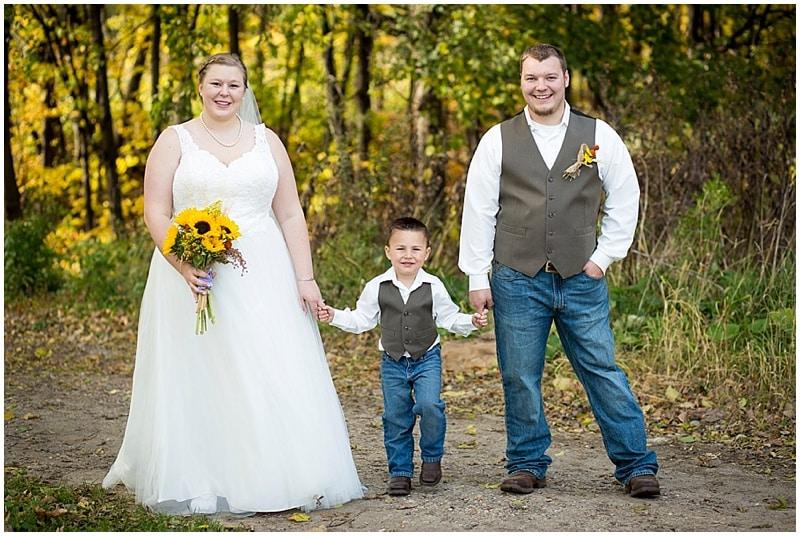orchard wedding photos
