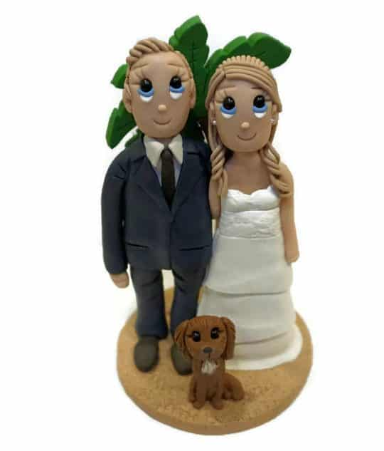 custom clay caketoppers