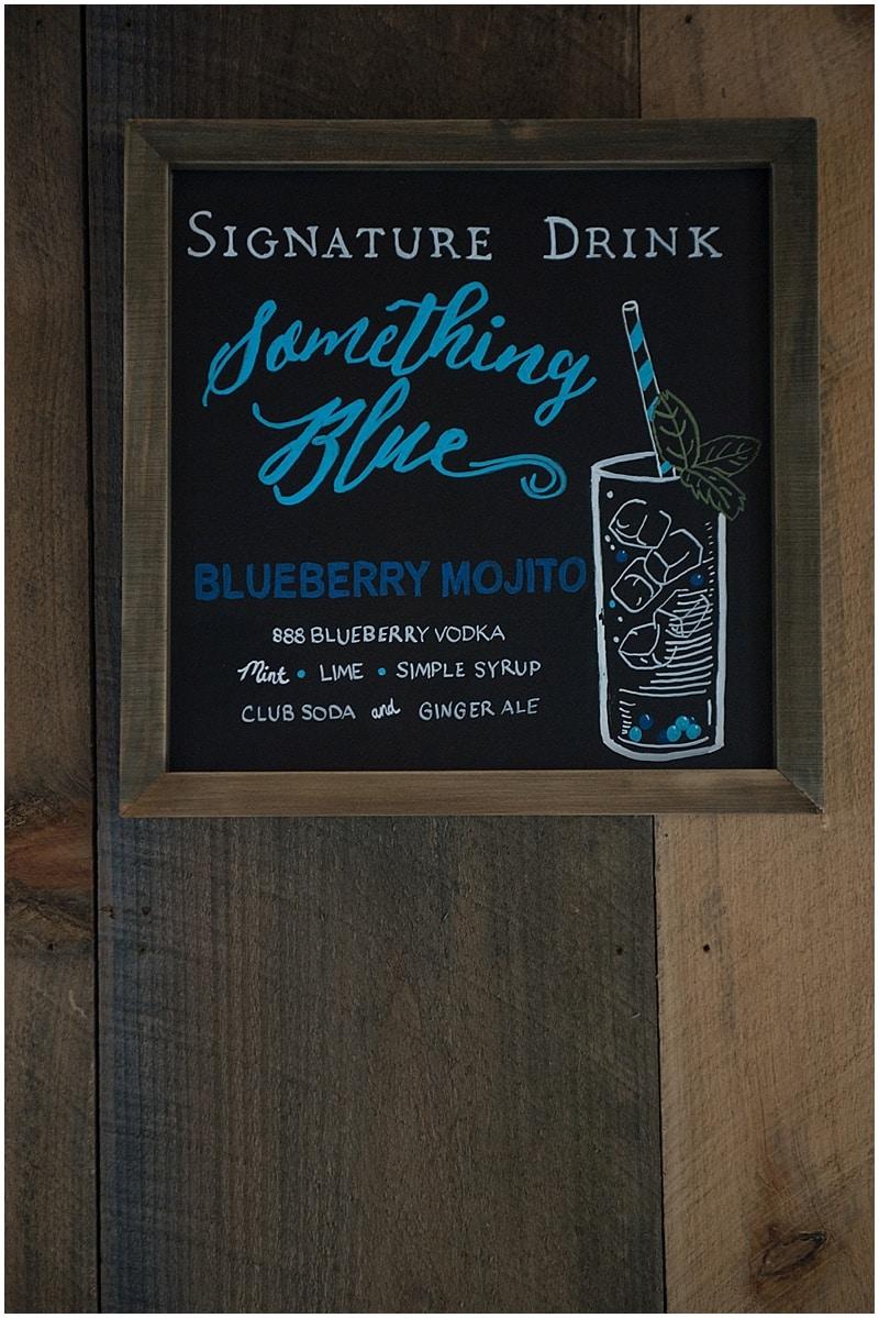 wedding signature drink