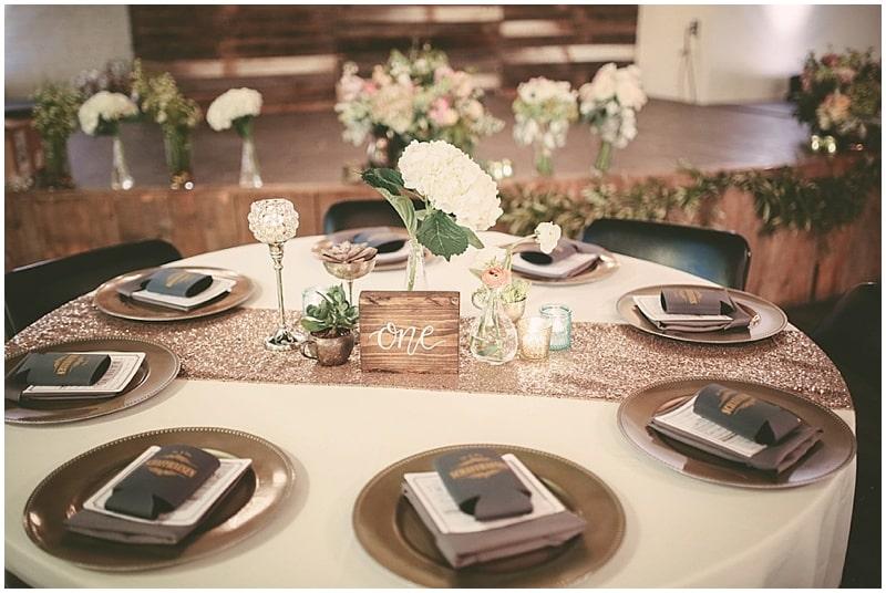 sparkly wedding decor