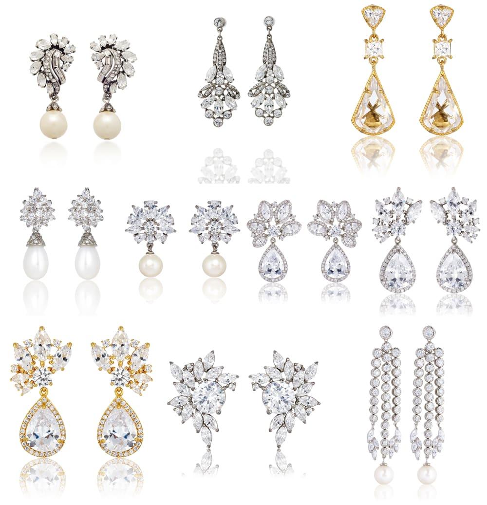 Bridal Earrings Thomas Laine