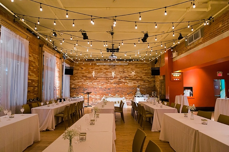 music themed wedding reception
