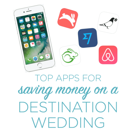 Top Apps for Saving Money on a Destination Wedding