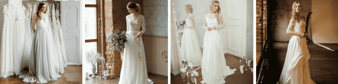 Looking for a truly unique and even handmade wedding gown? Consider the 100s of talented Etsy wedding dress designers available at the tip of your fingers, including AlexVeil Bridal.