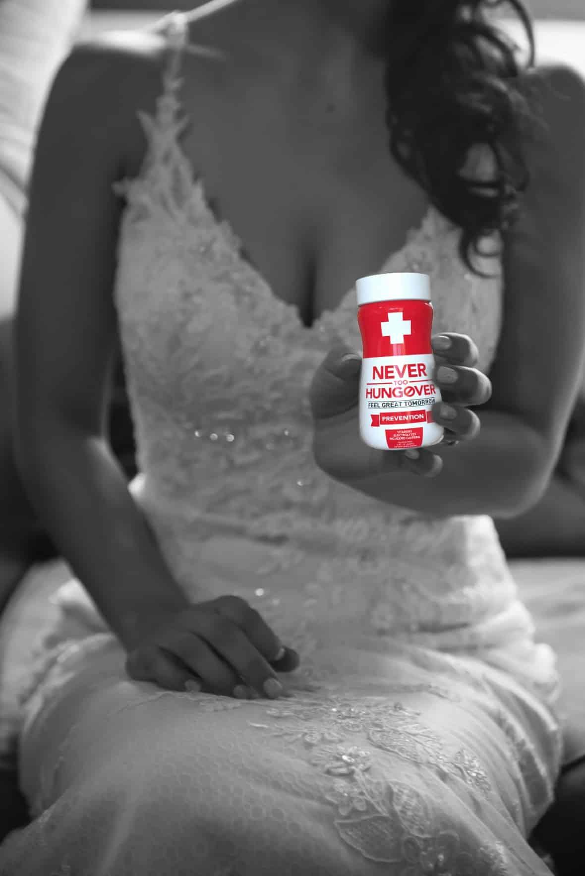 Never Too Hungover - Prevent Wedding Hangovers