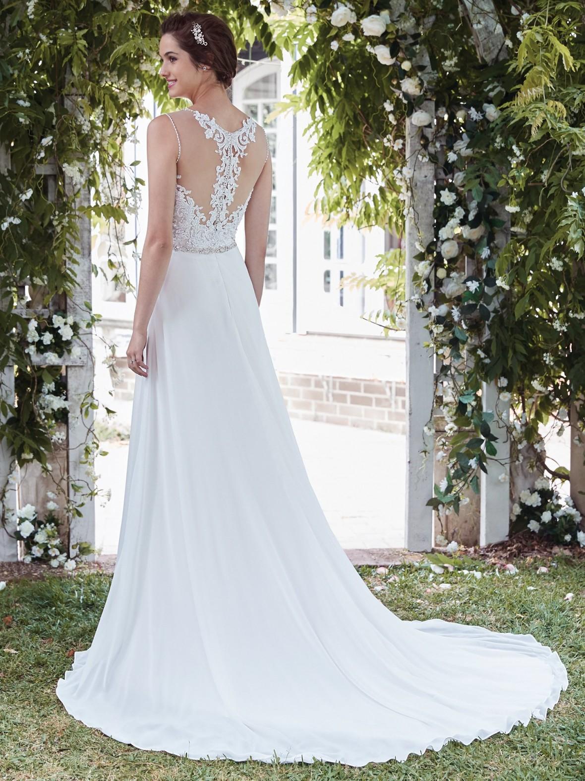Rebecca Ingram - Diana | affordable beach wedding dresses