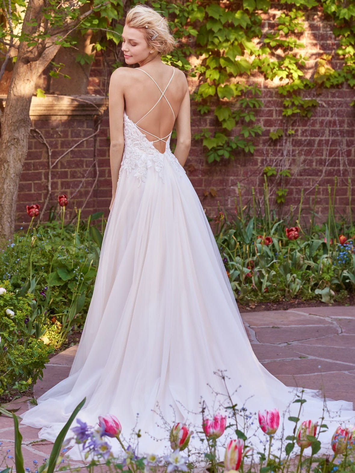 Rebecca Ingram - Marjorie | affordable beach wedding dresses