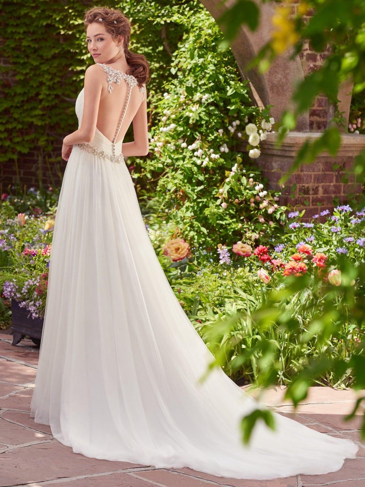 Rebecca Ingram - Shelley | affordable beach wedding dresses