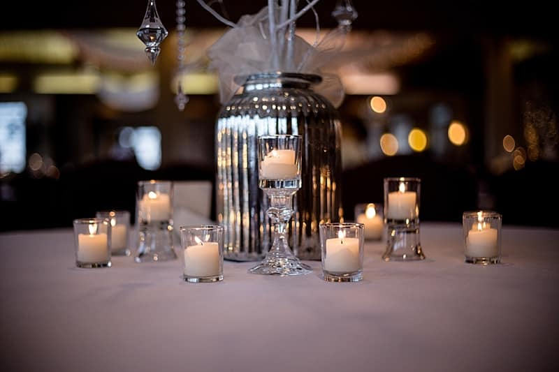 candle wedding decor