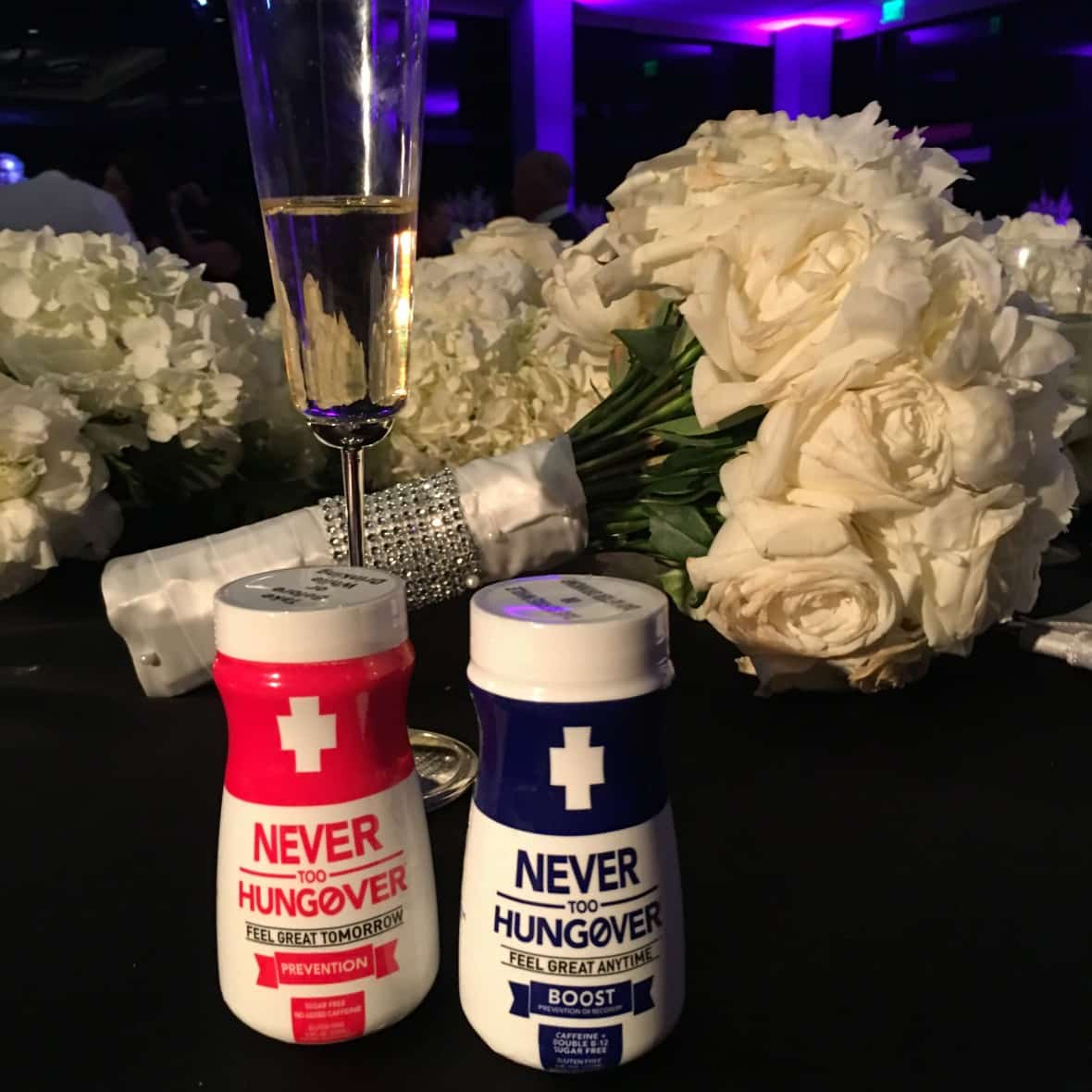 Prevent Wedding Hangovers with Never too Hungover