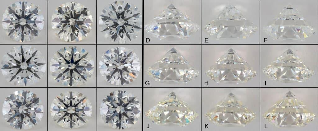 diamond color grid