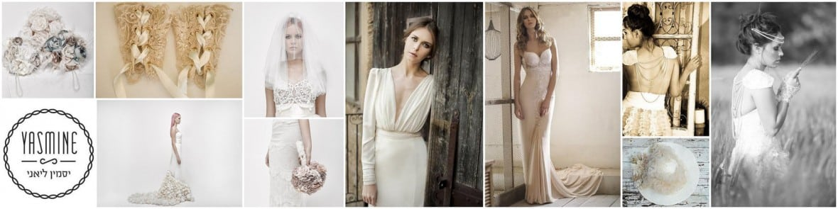 Looking for a truly unique and even handmade wedding gown? Consider the 100s of talented Etsy wedding dress designers available at the tip of your fingers, Including Yasmine Layani.