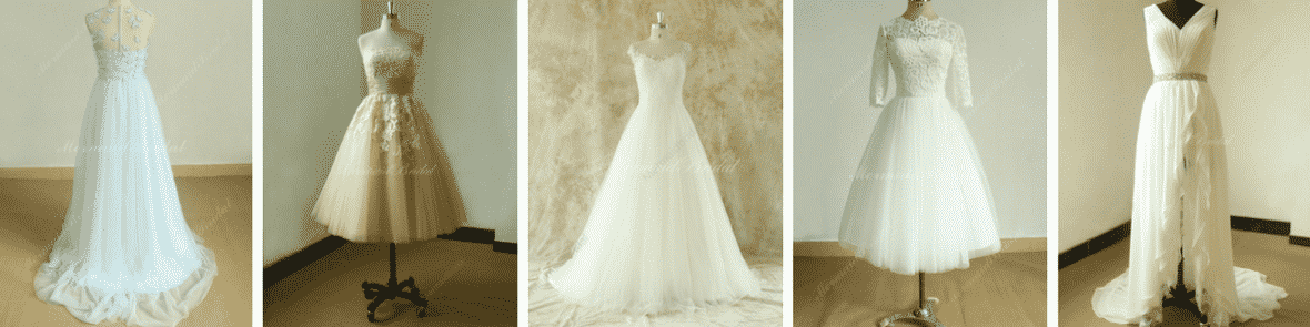 Looking for a truly unique and even handmade wedding gown? Consider the 100s of talented Etsy wedding dress designers available at the tip of your fingers, including Mermaid Bridal.