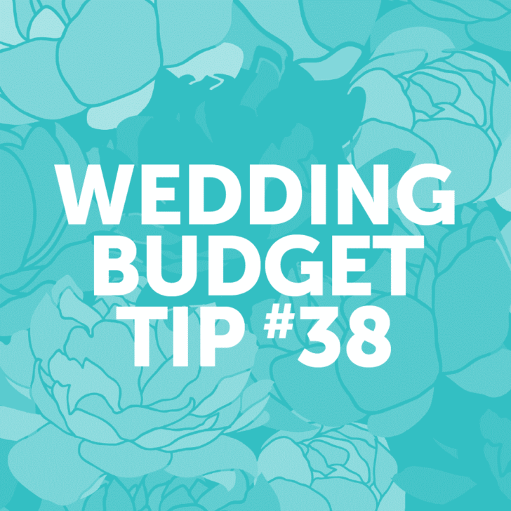 Wedding Budget Tip 38: Use non-floral items as decor!