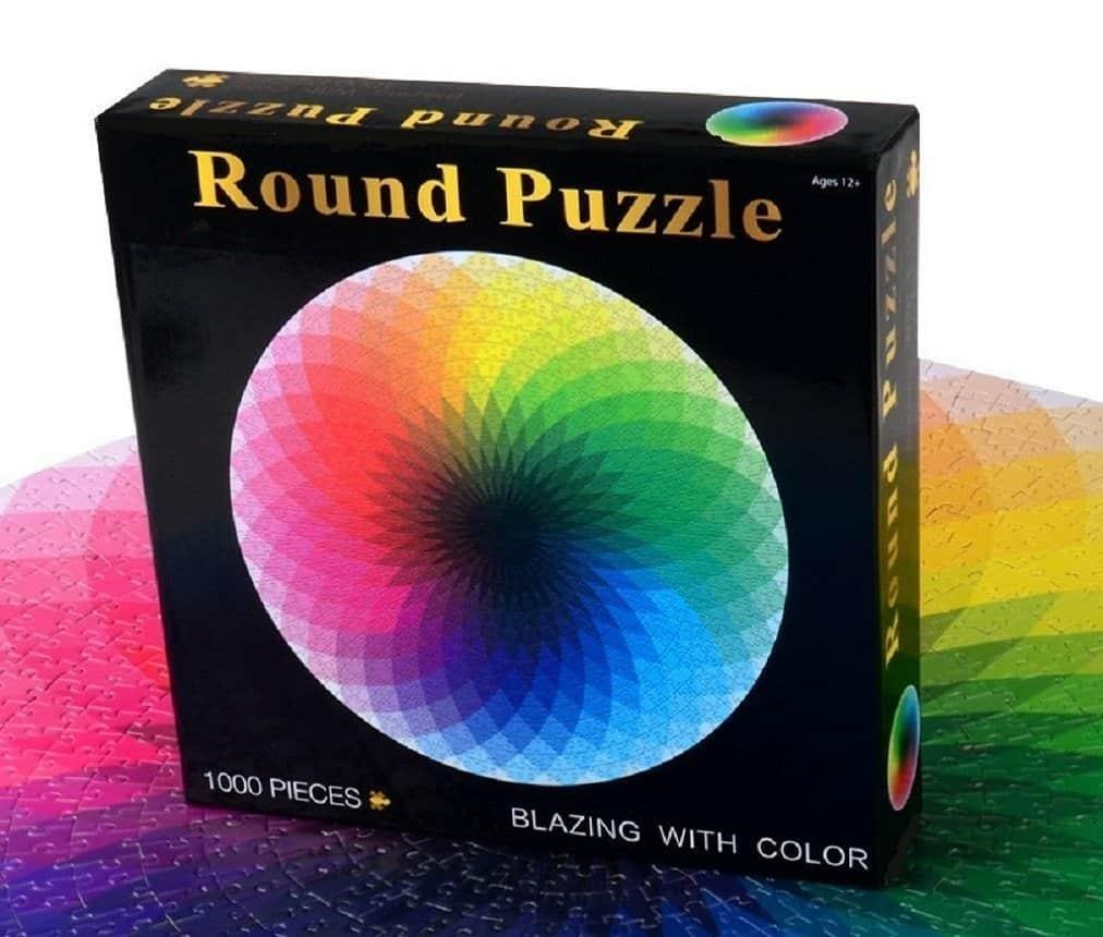 rainbow color puzzle