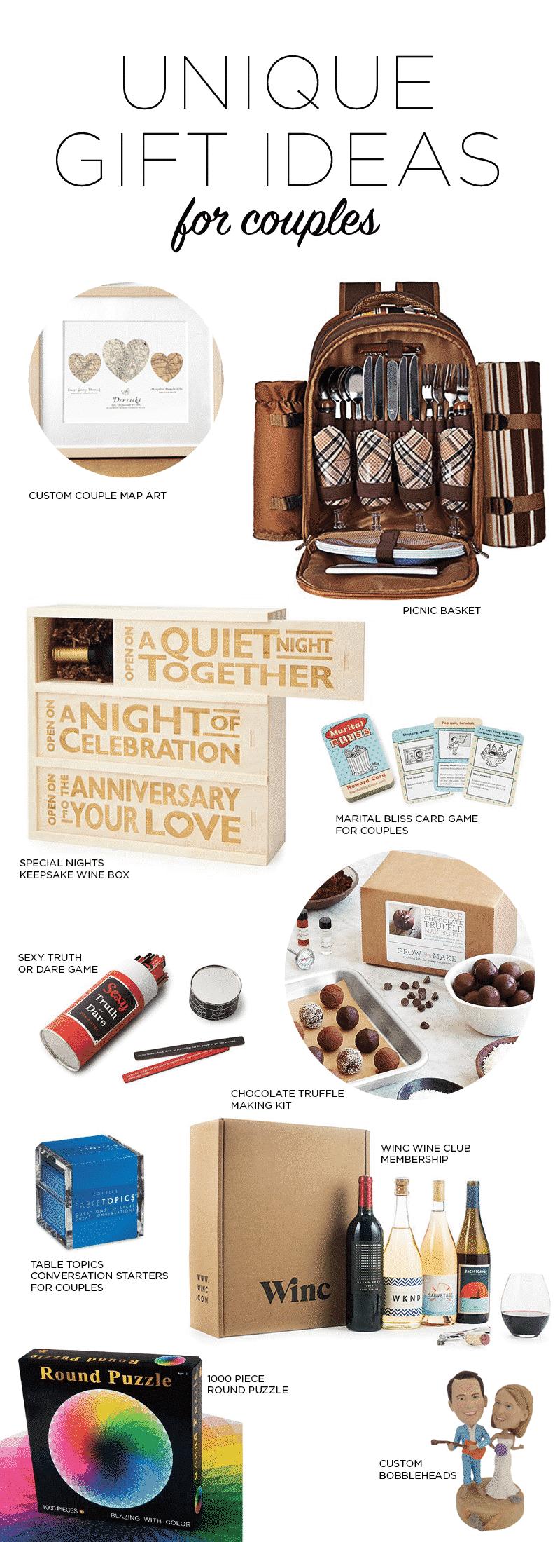 unique gift ideas for couples