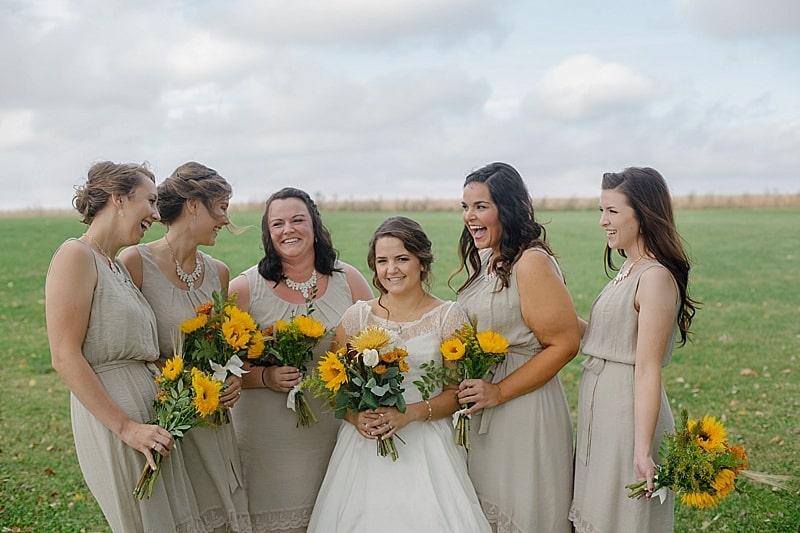 khaki wedding dresses