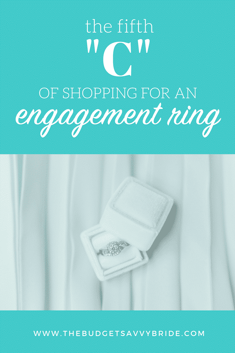 The Fifth C of Engagement Ring Shopping: Cost