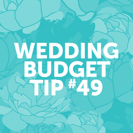 Wedding Budget Tip #49: Save your receipts and stay organized