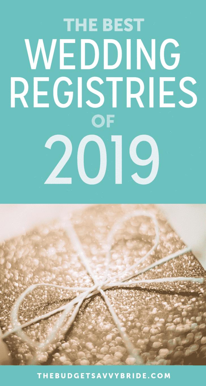 best wedding registries 2019