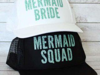 Mermaid Bride or Squad Hat by BubblyAndBash
