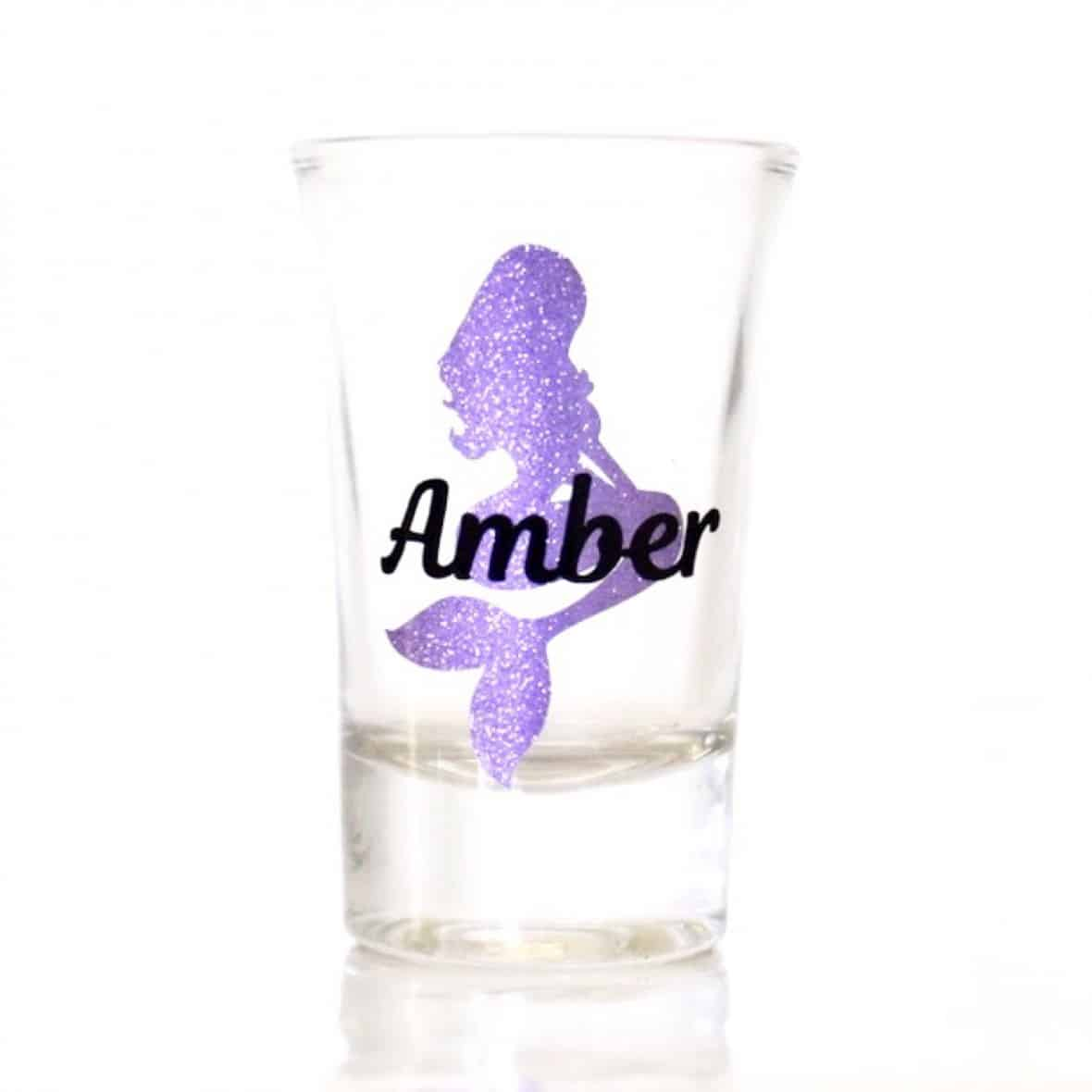Mermaid Shot Glass by BubblyAndBash