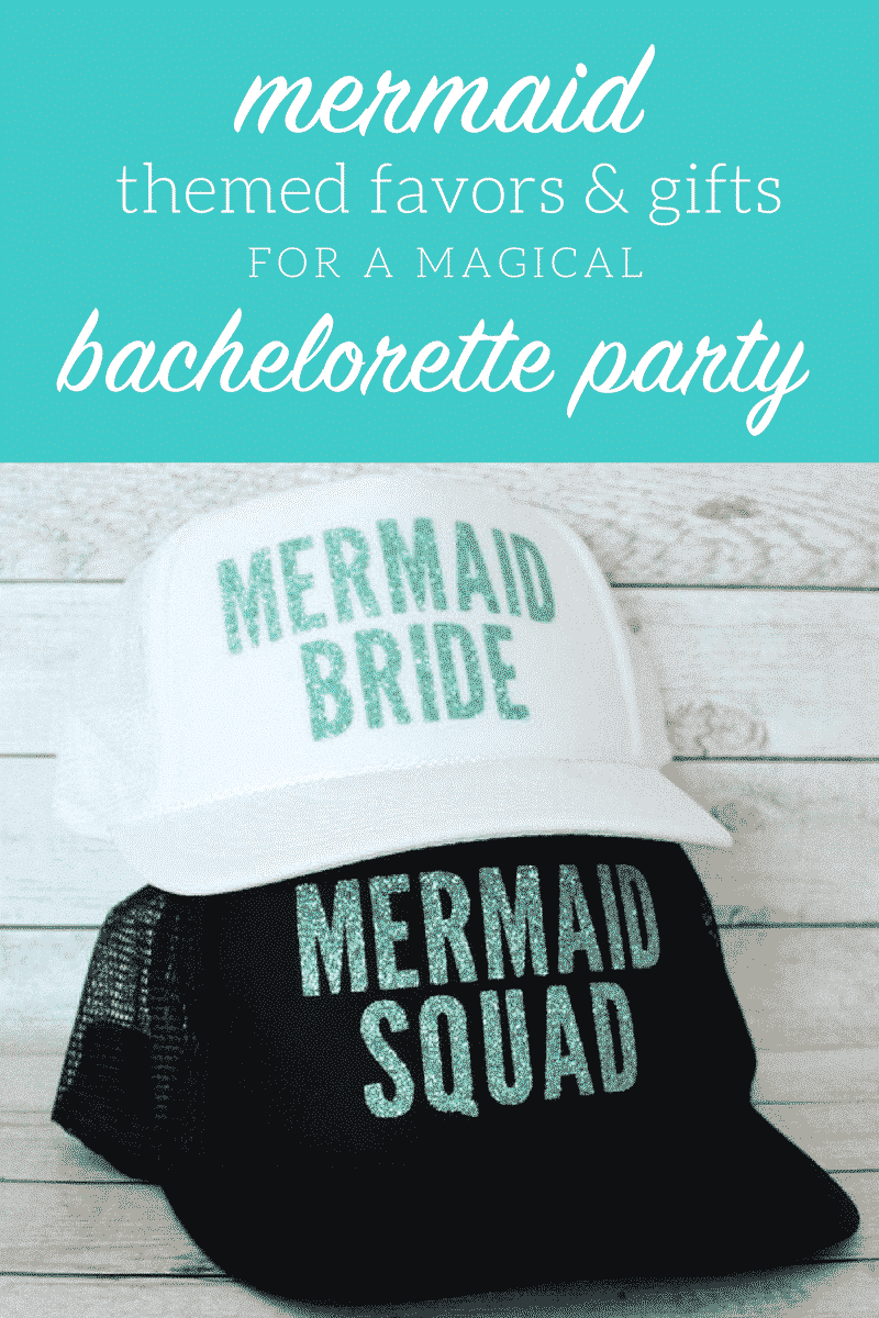 mermaid theme bachelorette party