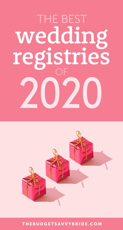 best wedding registry 2020
