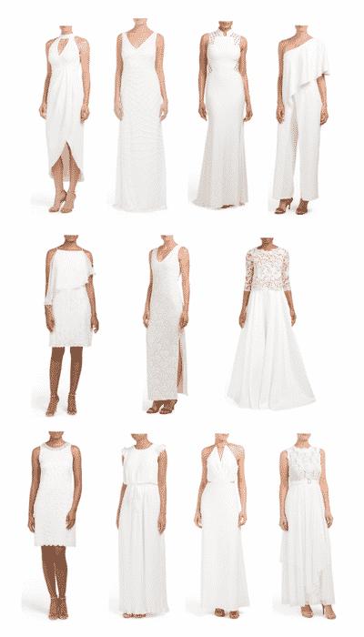 tj maxx gowns