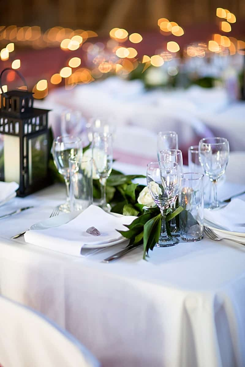 Elegant DIY wedding decor