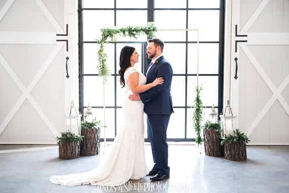 7 Foot Copper Wedding Backdrop by ohkawaiidreams