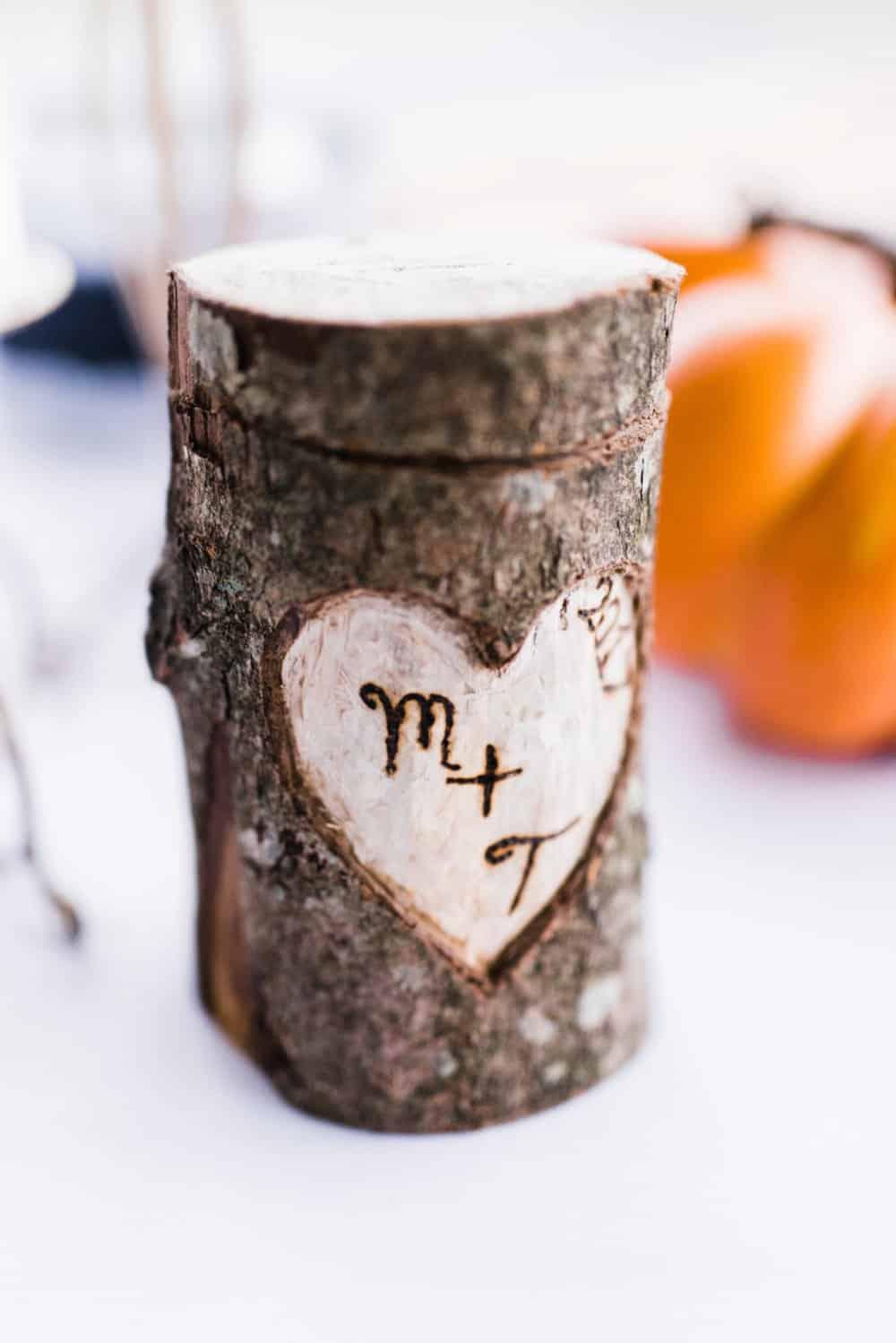 creative wedding details, DIY decor
